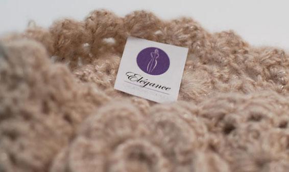 Étiquettes textiles, griffe commerciale